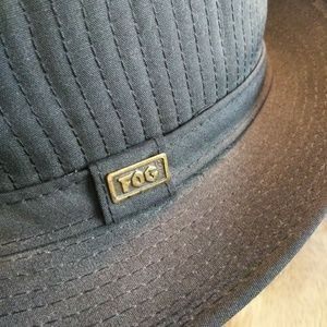 29cc564184f London fog corduroy fedora hat mens 7.  65  0. Black Hat 7.5